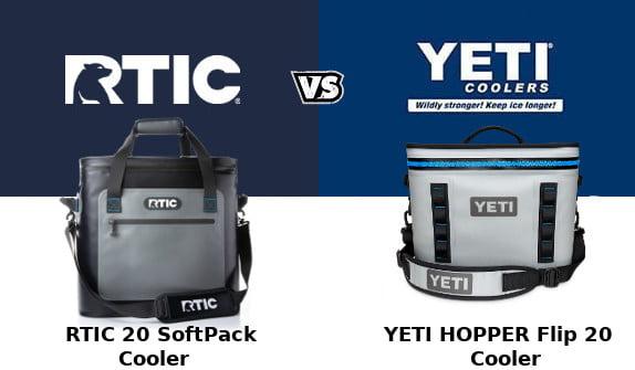 RTIC Softpack Vs YETI Hopper Flip
