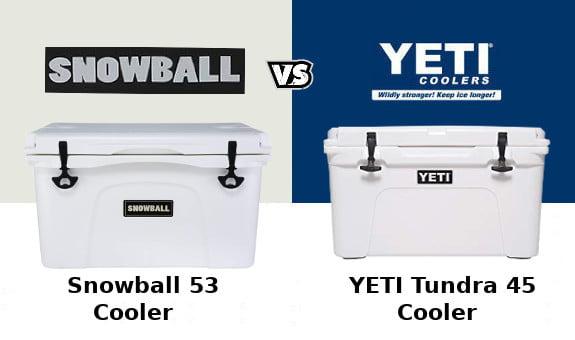 Snowball Cooler Vs YETI Tundra