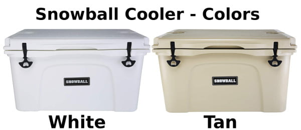 Snowball Coolers - Colors
