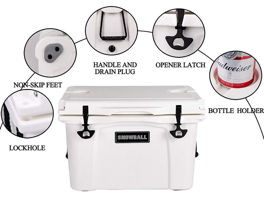Snowball Coolers - Features