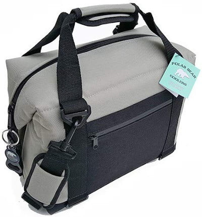 Polar Bear Nylon Series Soft Cooler Tote
